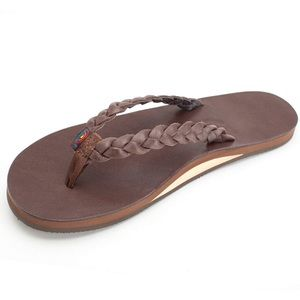 Rainbow Sandals Twisted Sister Dark Brown Small